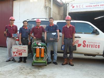 sửa chữa, bảo trì thiết bị thủy lực