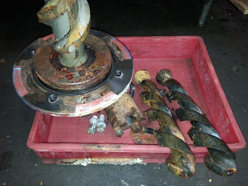 sửa chữa bơm thủy lực trục vít IMO