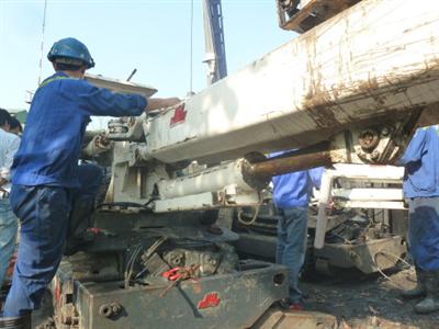 sửa chữa máy khoan đá thủy lực