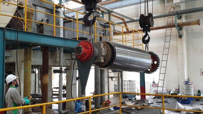 bảo trì công nghiệp trong nhà máy giấy