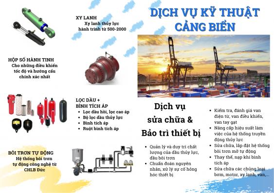 Thủy lực cho vận tải cảng biển